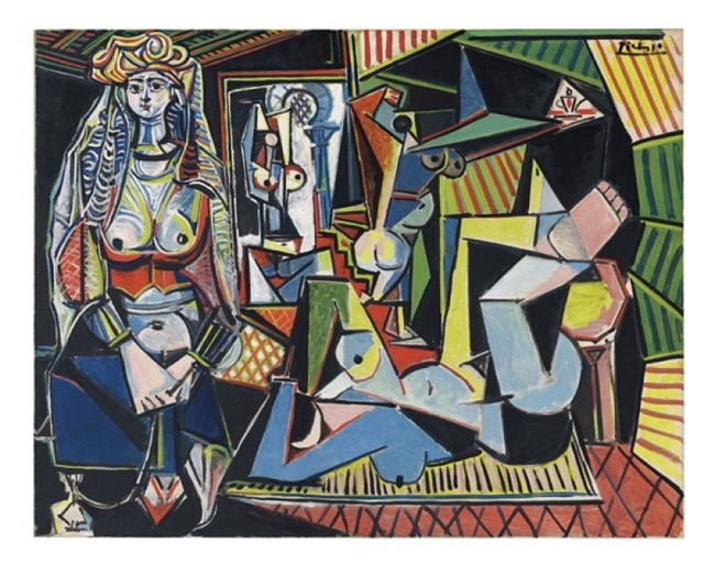 Picasso's Les Femmes d'Alger (Version O)