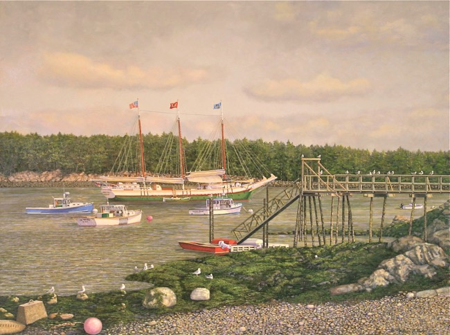 Low Tide   by William R. Beebe, SOLD