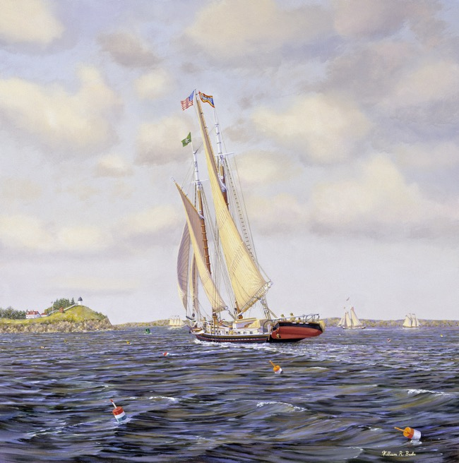 Heading Home    by William R. Beebe, 24 x 24, oil on board, $11,000
