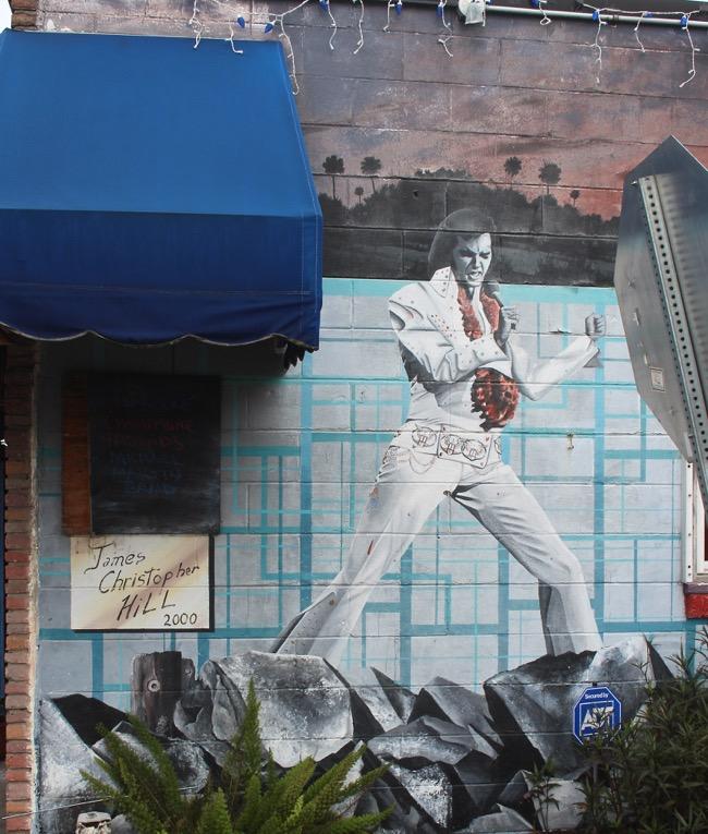 Elvis,Planet Follywood, Folly Beach SC Photo by William R. Beebe