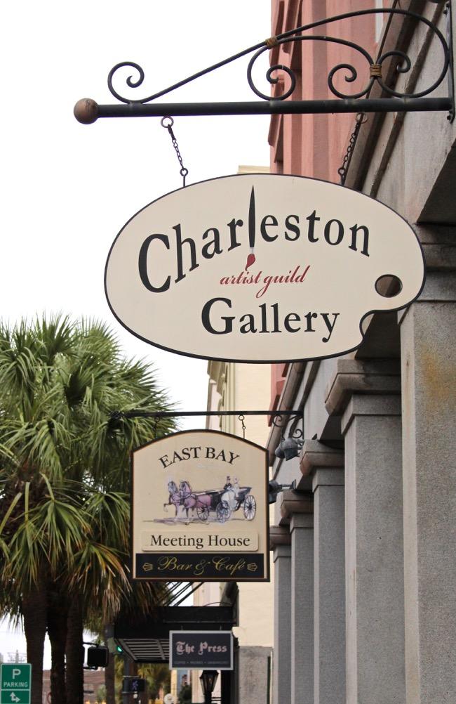 Charleston Artist Guild in Charleston SC Photo by William R. Beebe