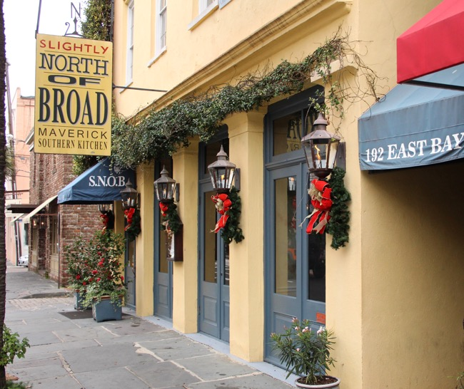 Great restaurants downtown Charleston SC Photo by William R. Beebe