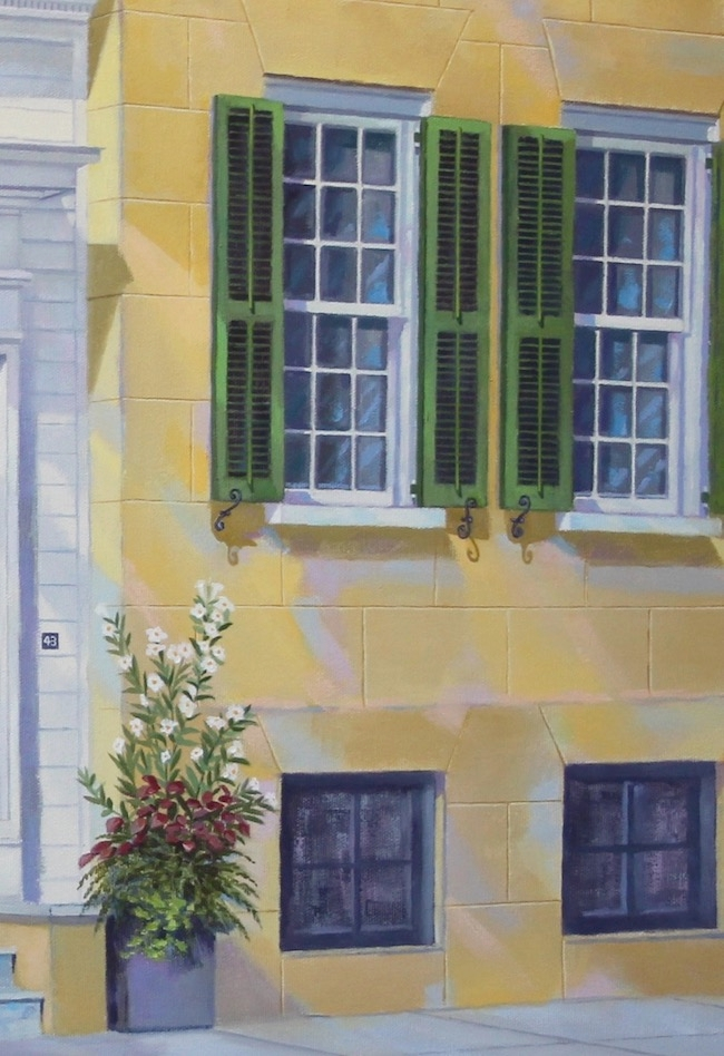 43 Meeting Street   by William R. Beebe, detail shot