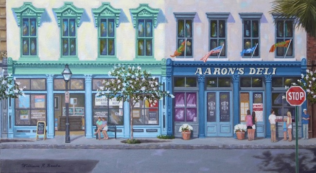 Next Stop     Aaron's Deli   by William R. Beebe (detail shot)