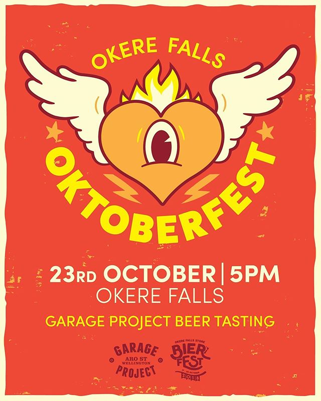As you all may already know our Beer Fest is coming up 🥳  We are kicking things off on Wednesday the 23rd of October with a beer tasting hosted by @garageproject  Who doesn't love great beer and food to go along with it.  Why not start off our Oktoberfest right... Link to the tickets below 👇  https://www.eventfinda.co.nz/2019/2019-october-okere-falls-beerfest/rotorua #nzcraftbeer #garageproject #kiwicraftbeer #beerfest #beertasting #okerefallsstore #rotorua #rotoruaevents #nzbeer