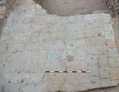 Mudbrick floor