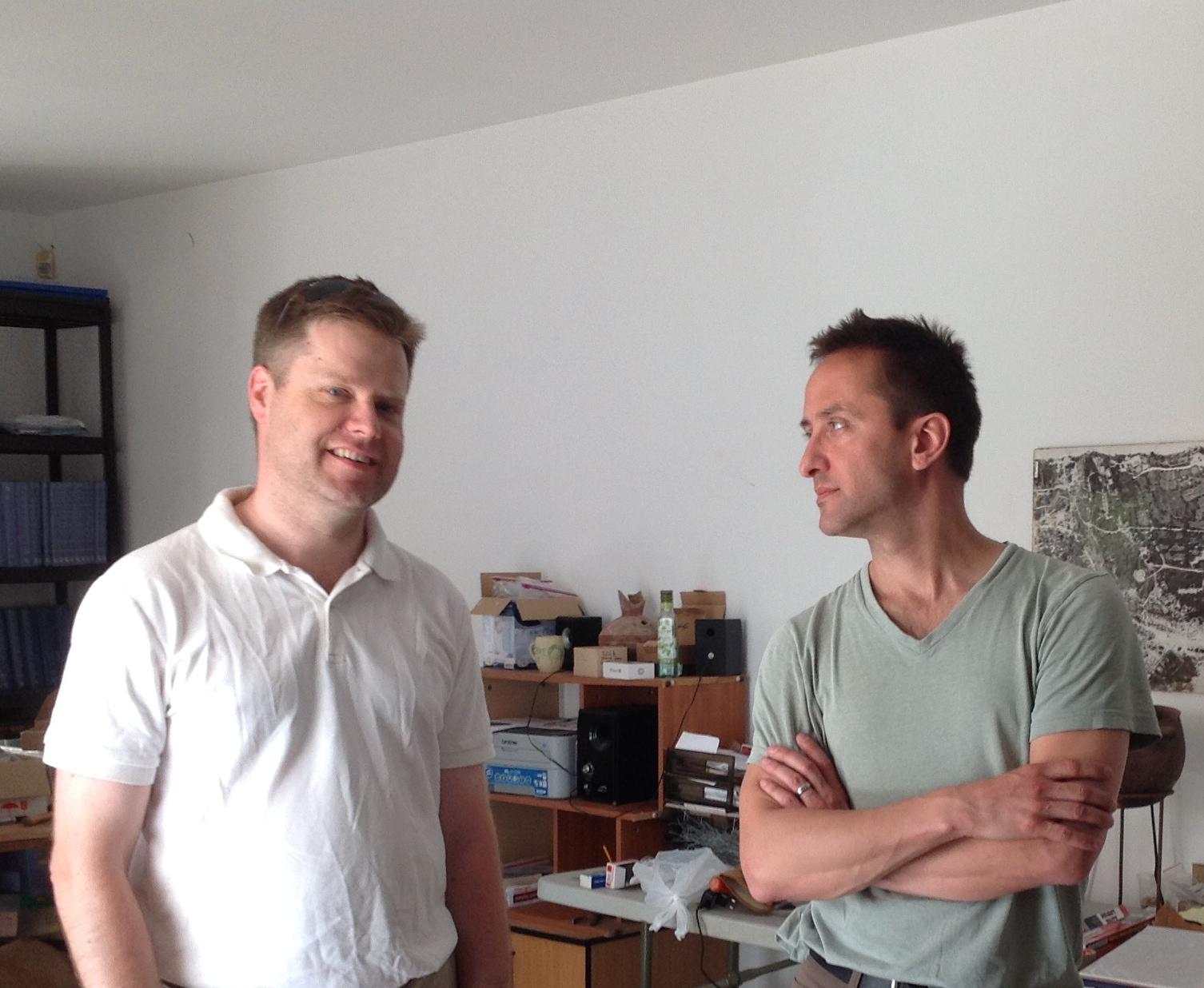 Co-Director Daniel Master and Assistant Director Adam Aja