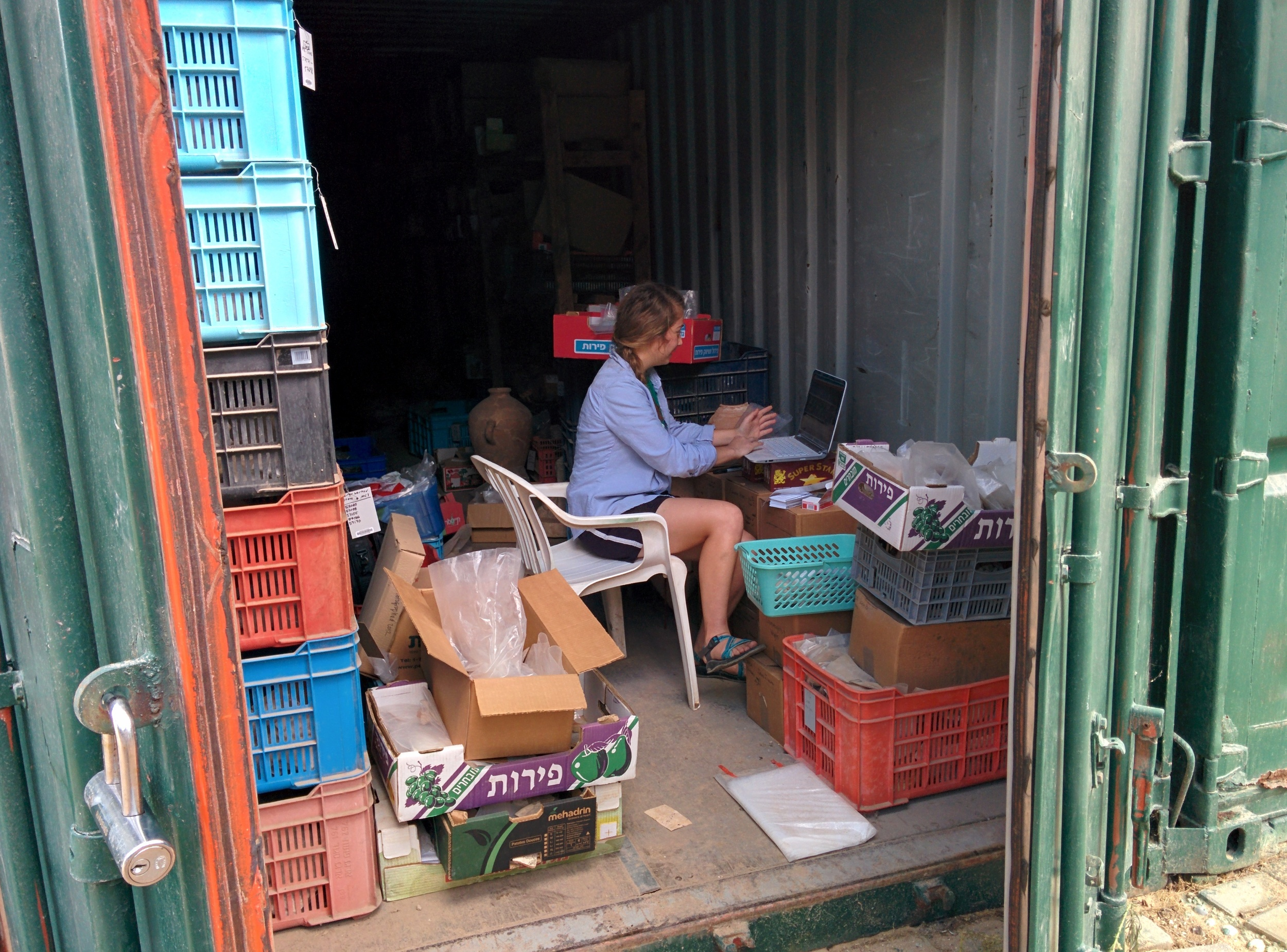 """""""Office"""" in a container"""