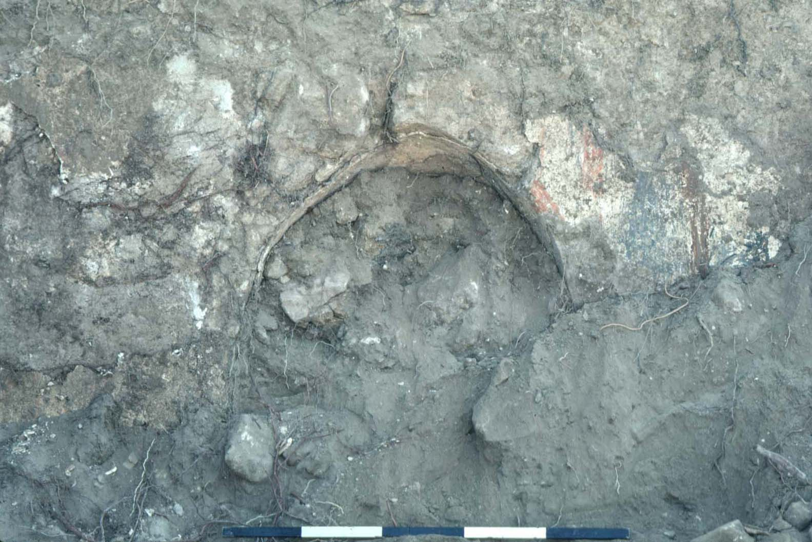 The first official photo of the excavation
