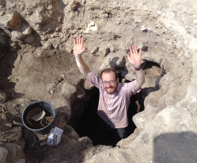 Ben in the new sewer in Grid 47