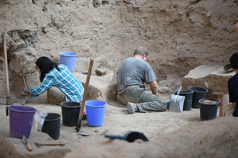 Excavating in Grid 51