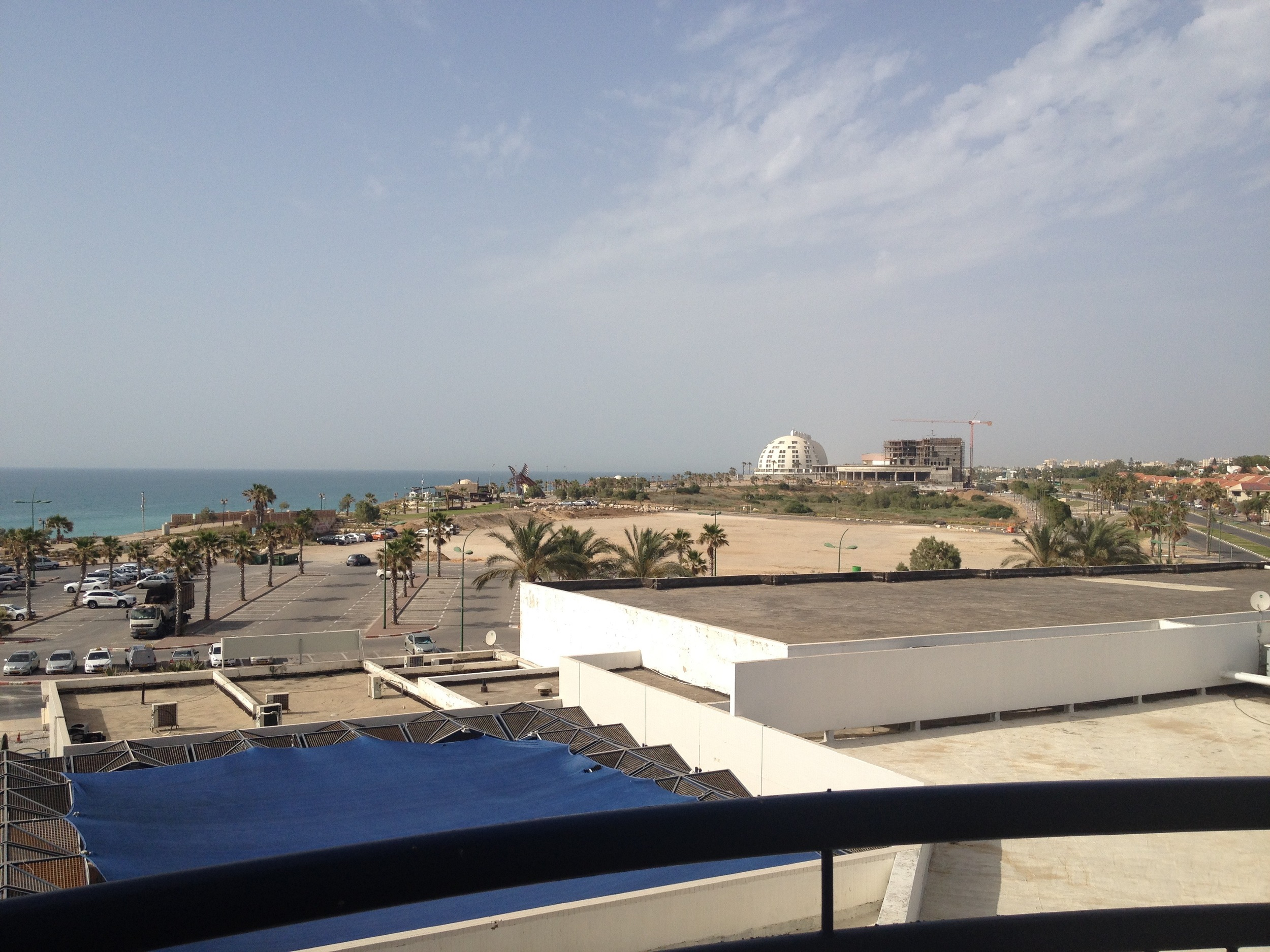 View north from Leonardo Hotel