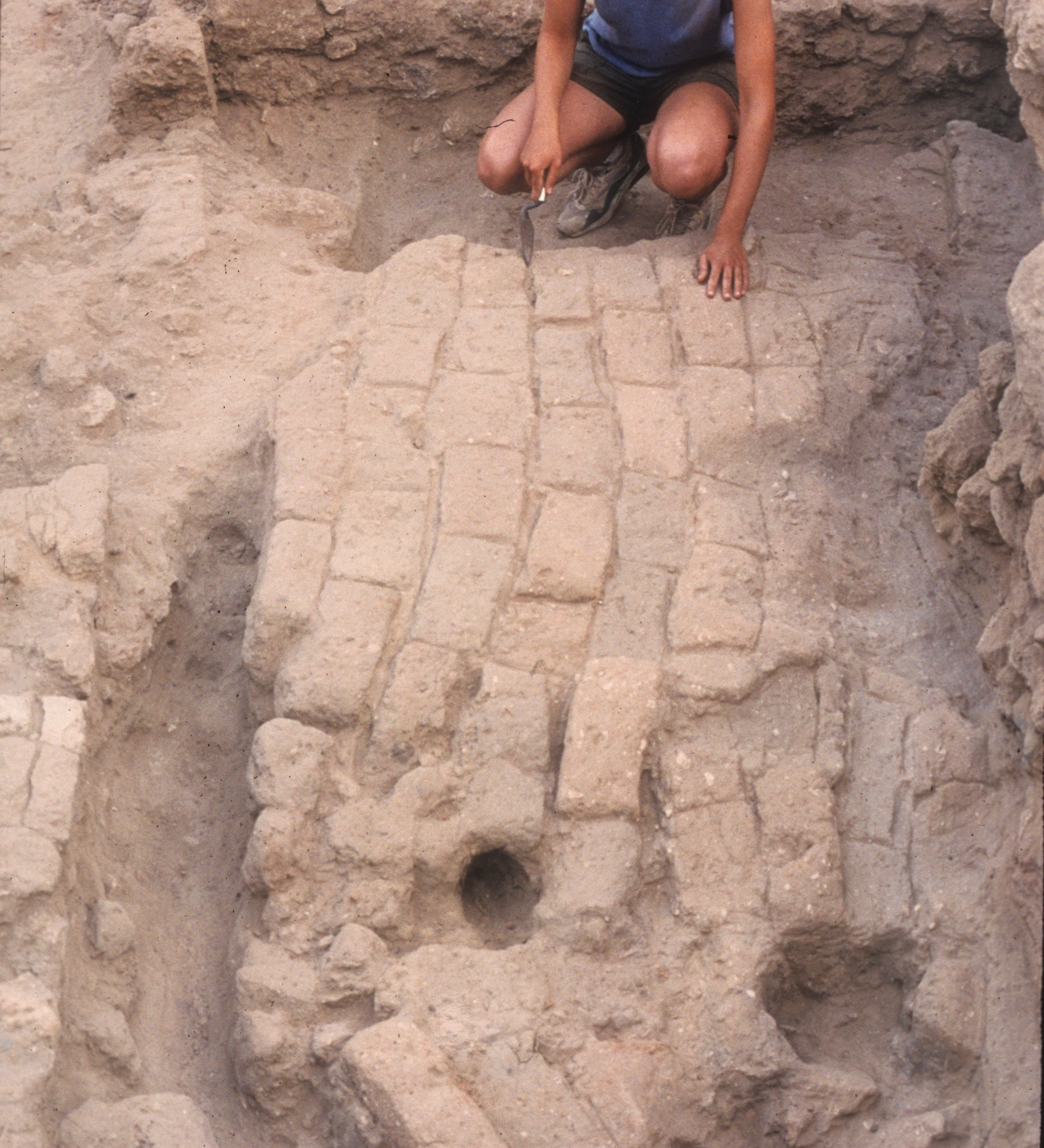 One of the most common building materials at Ashkelon? Mudbrick.