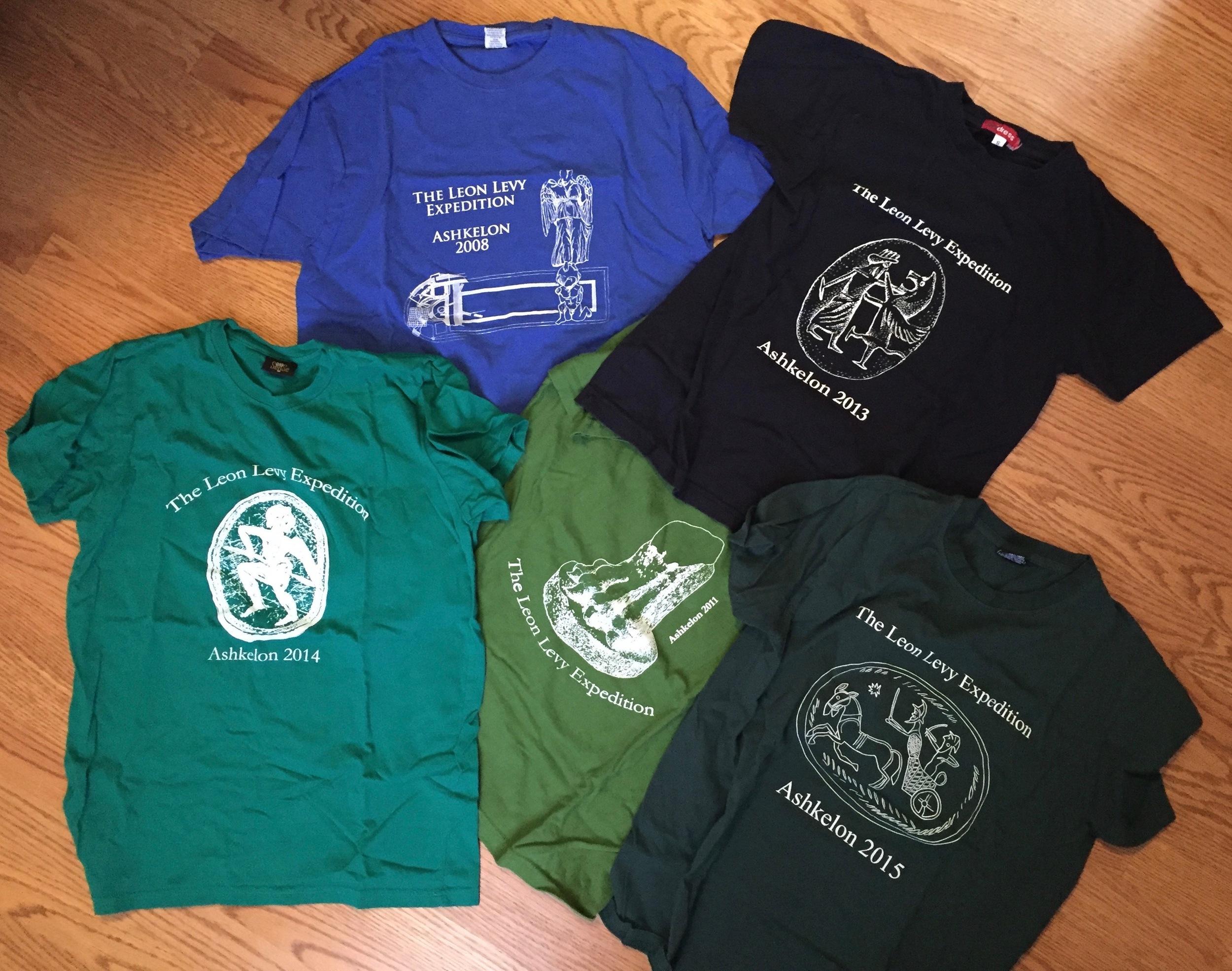 Previous dig shirts