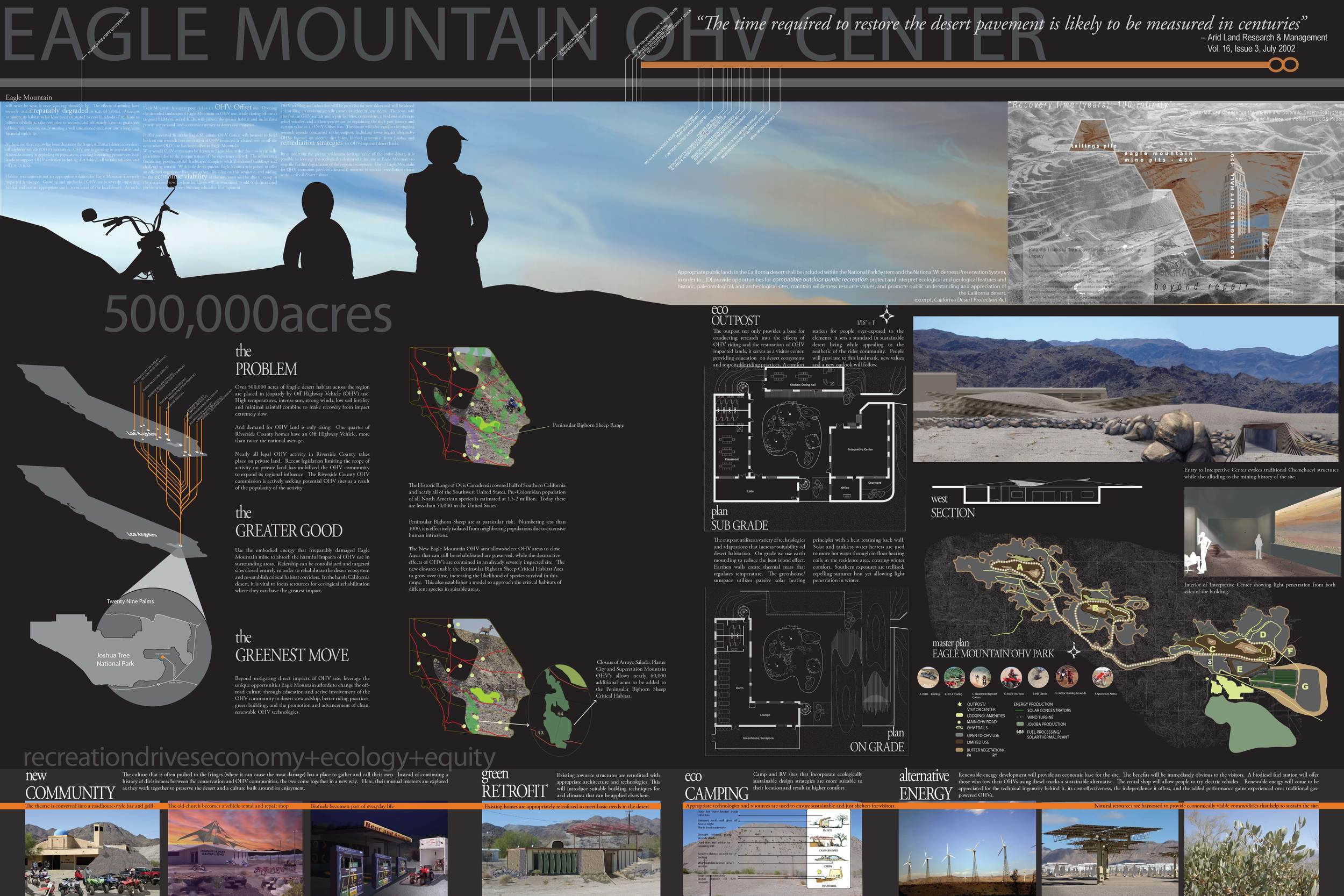 The competition entry board completed by Matt Kizu, Sam Jenniches,Kai Craig, Patrick Johnston, andScott Kleinrock. (click for lightbox view of image)