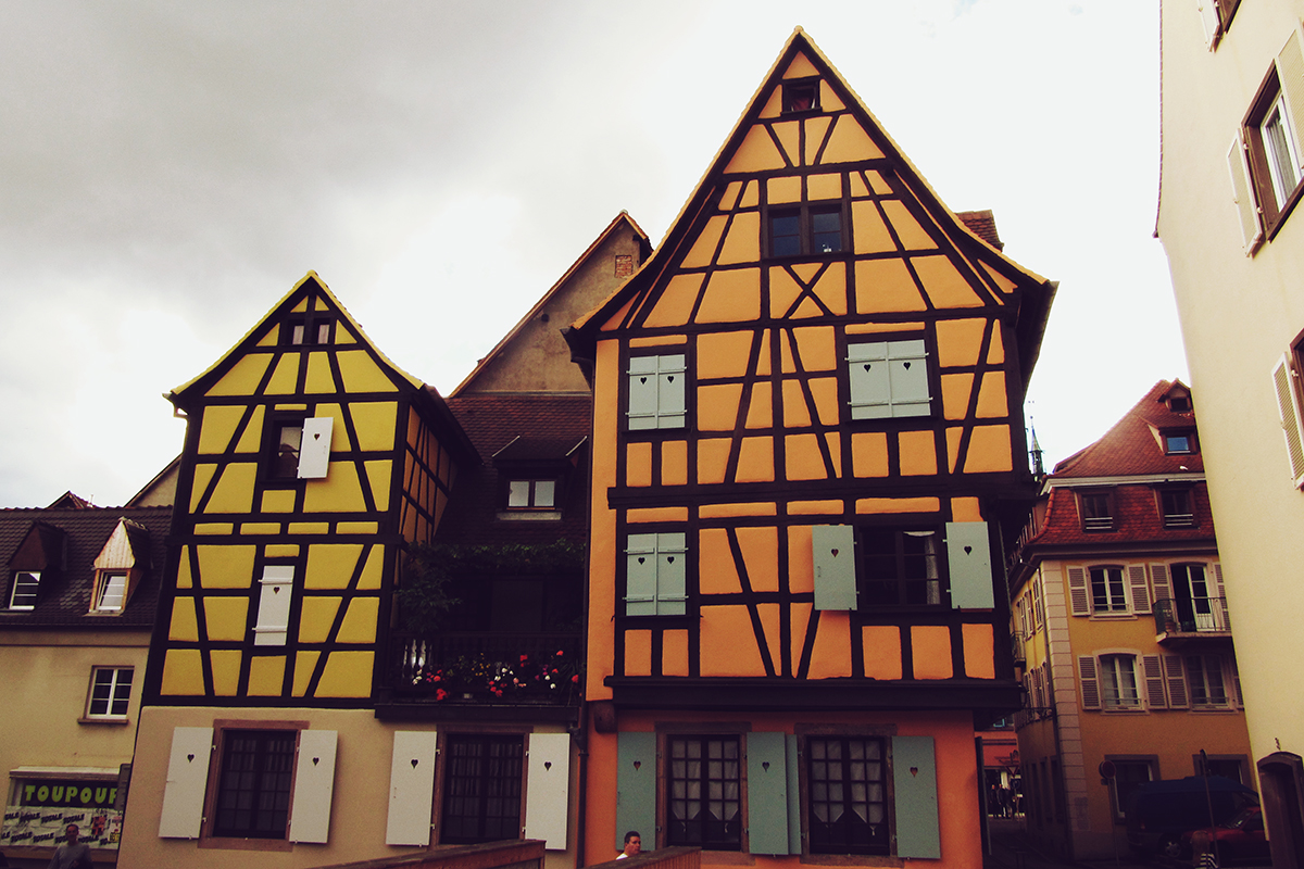 Buildings in Colmar, France