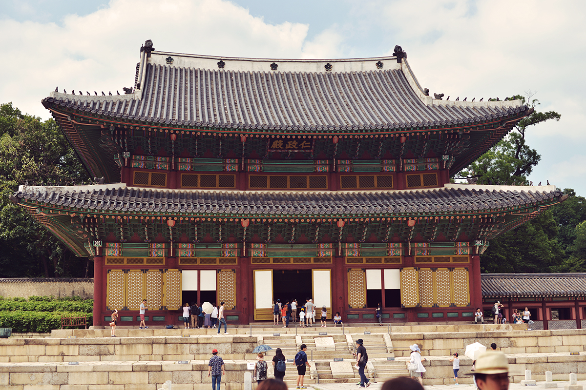Injeongjeon Hall, the throne hall of Chandeokgung Palace