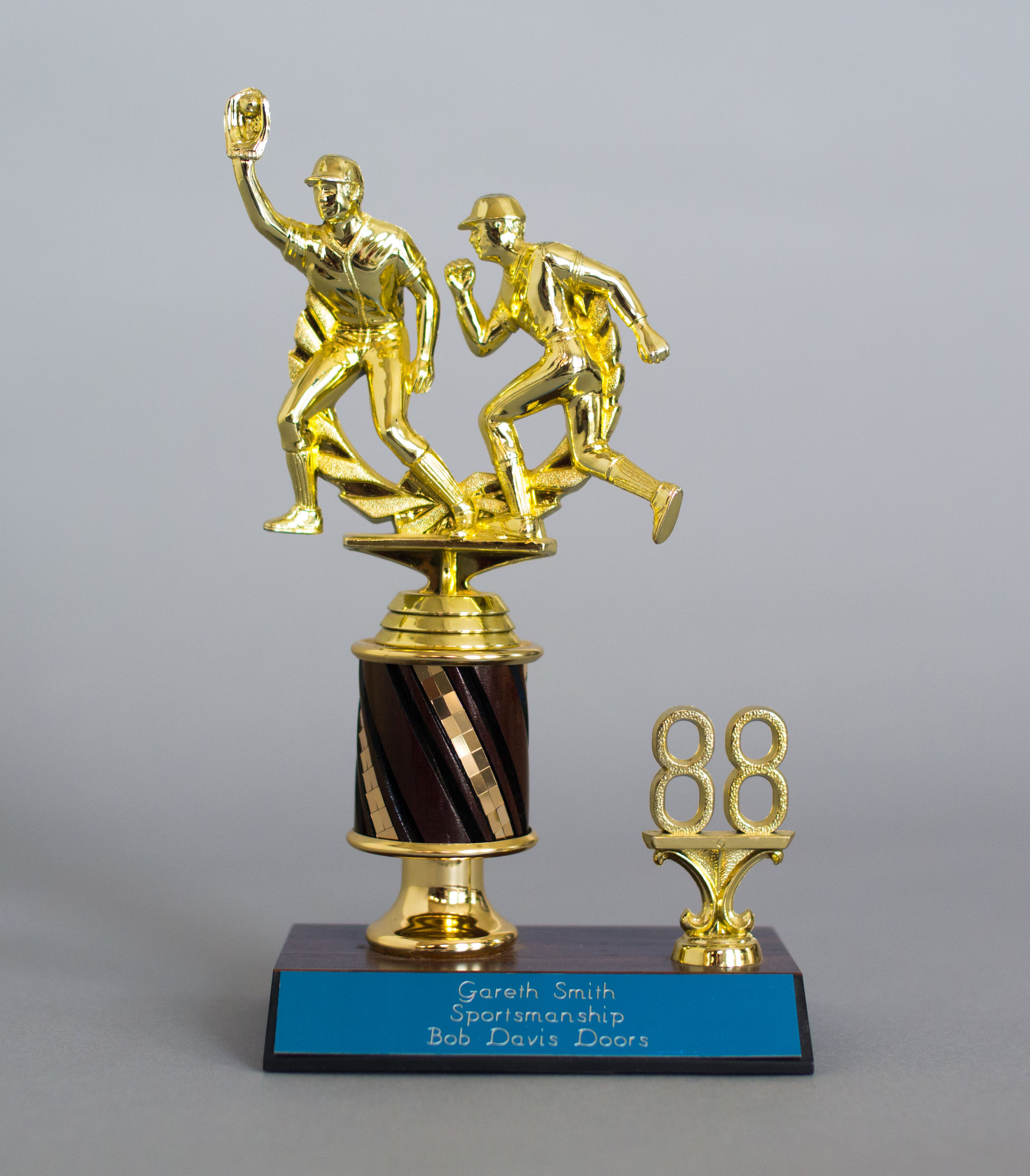 Sportsmanship Award  (AKA The You-Might-Want-to-Try-Something-Other-Than-Baseball Award) – Gareth Smith – 1988