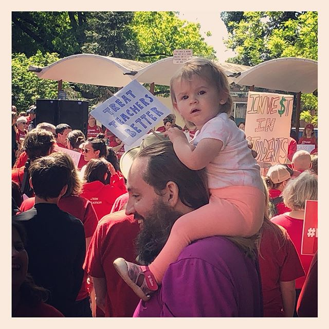 Treat Teachers Better. Treat Students better too! #redfored #eugeneoregon #publiceducation #publiced #springfieldoregon #redforeducation #publicachool #publicschoolteacher