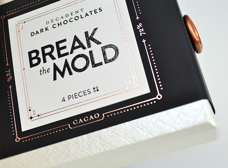 Break the Mold Chocolate Packaging