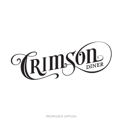Crimson Logo Option