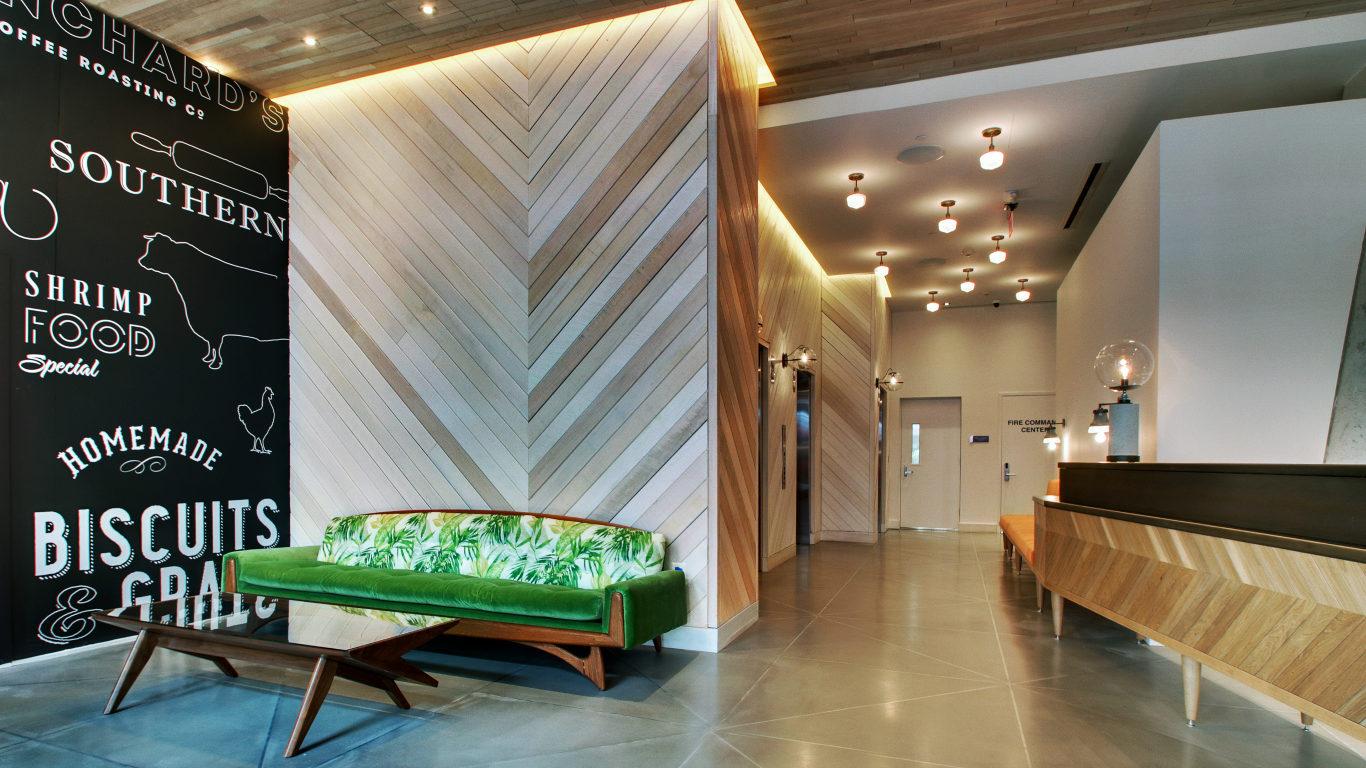 pod dc interior wall graphics (image left) Photo @podhoteldc