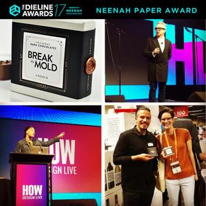 The Dieline Neenah Paper Award Winner, 2017