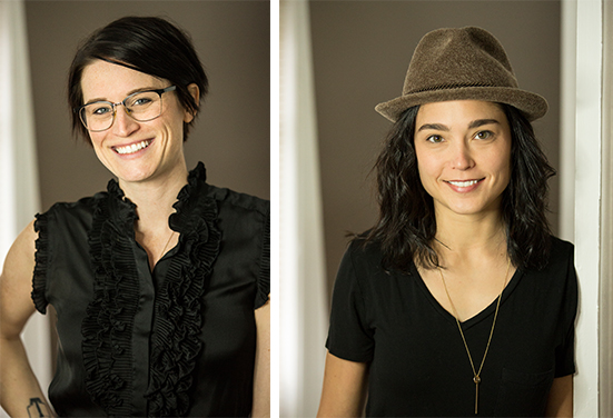 Owners, Jess Glebe + Caitlin Riley |  Photos by    Norah Levine