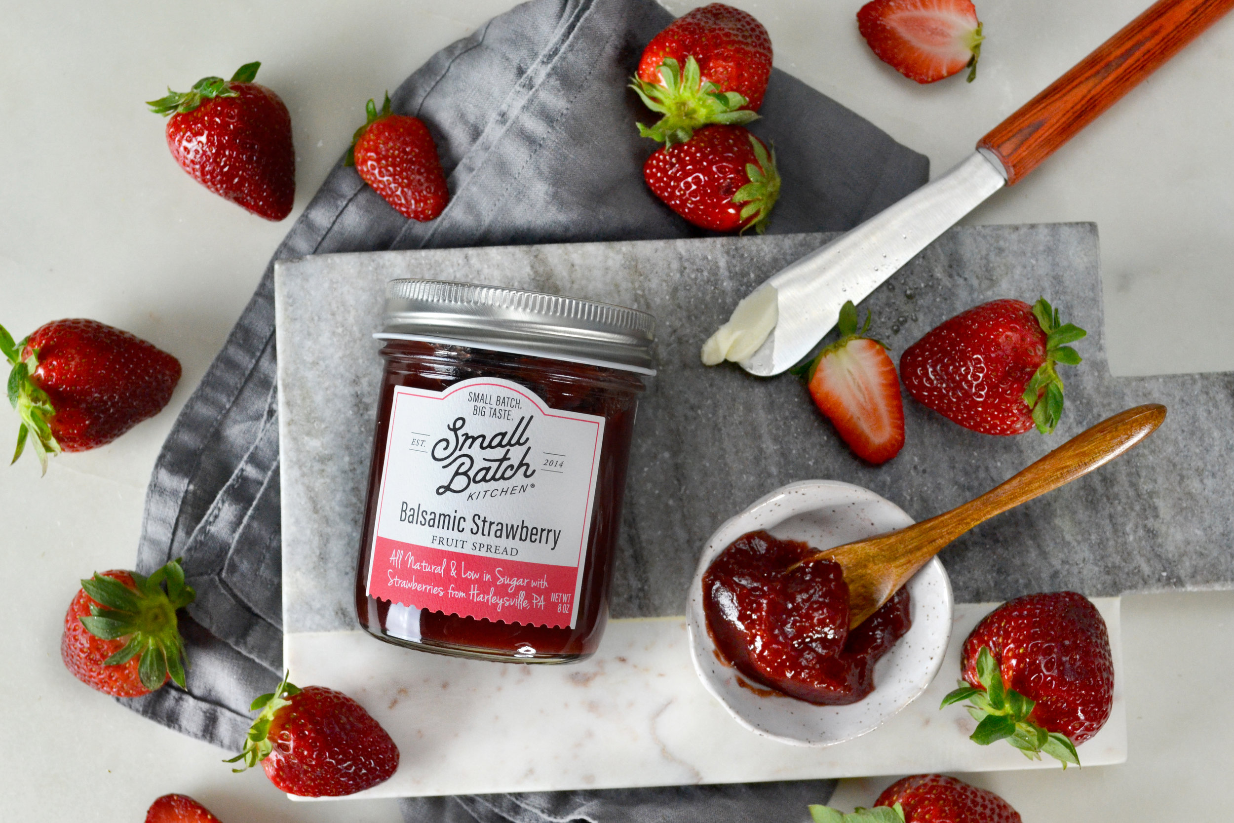 Balsamic Strawberry Fruit Spread