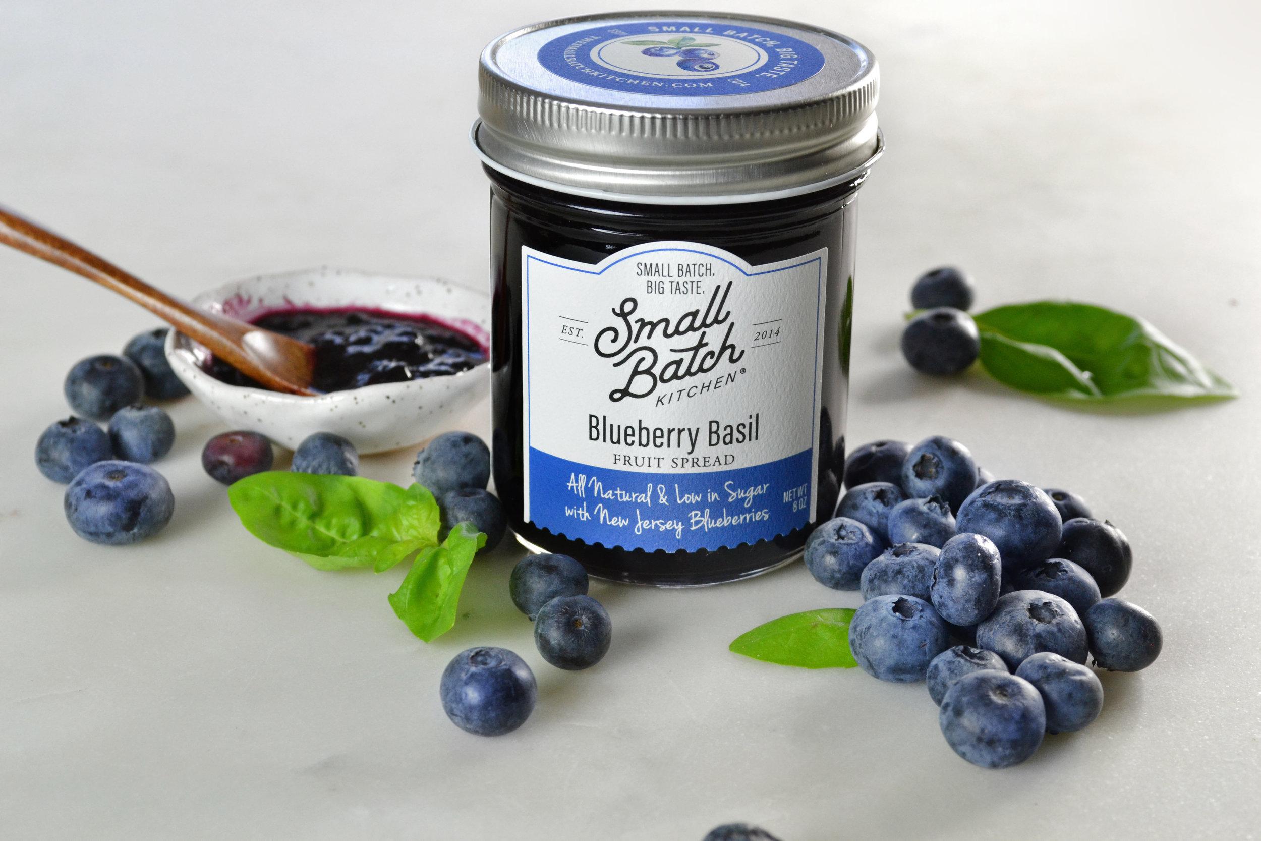 Blueberry Basil Fruit Spread