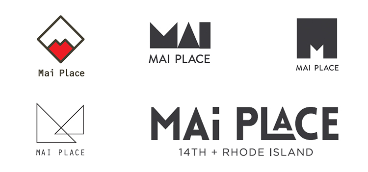 PRESENTED LOGO OPTIONS FOR MAI PLACE