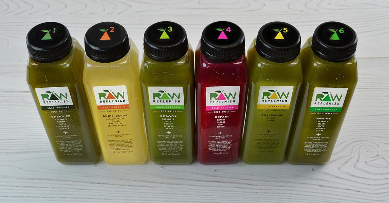 Raw Replenish Juices