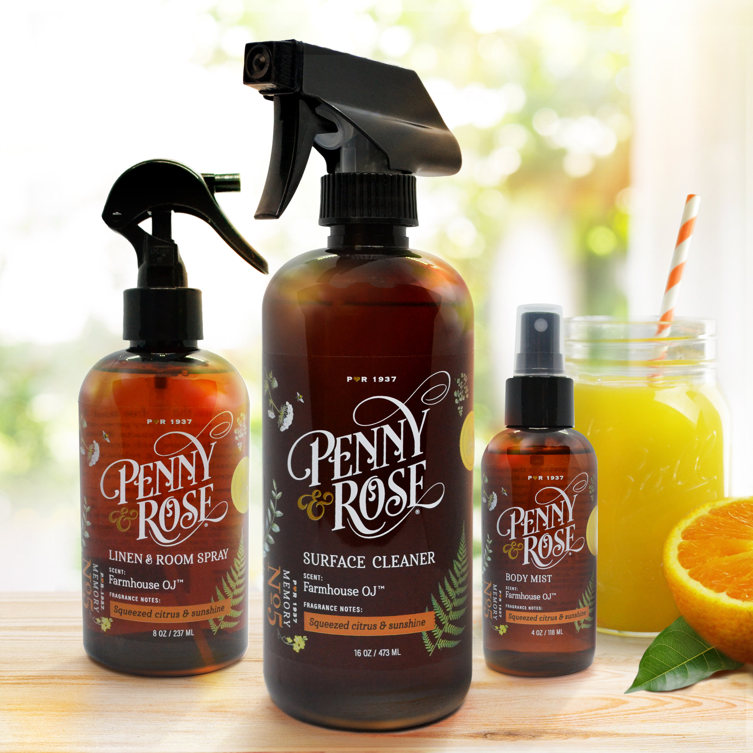 Farmhouse OJ Bath and Room Sprays