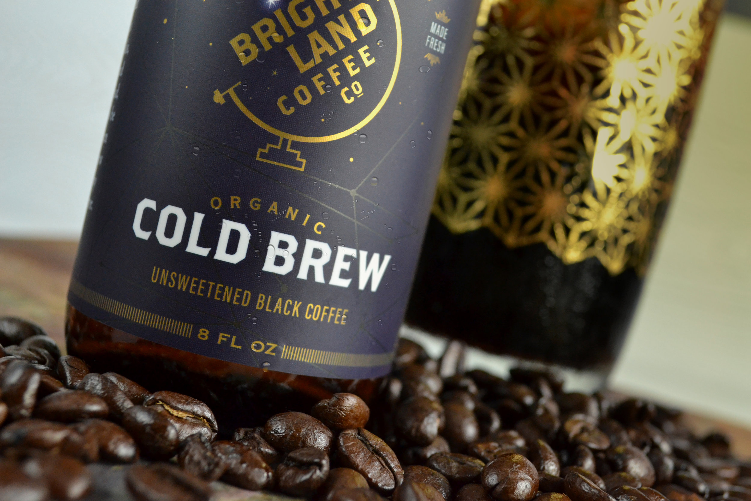 Bright Land Cold Brew Packaging