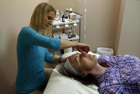 Cosmetic Acupuncture, Boston Globe