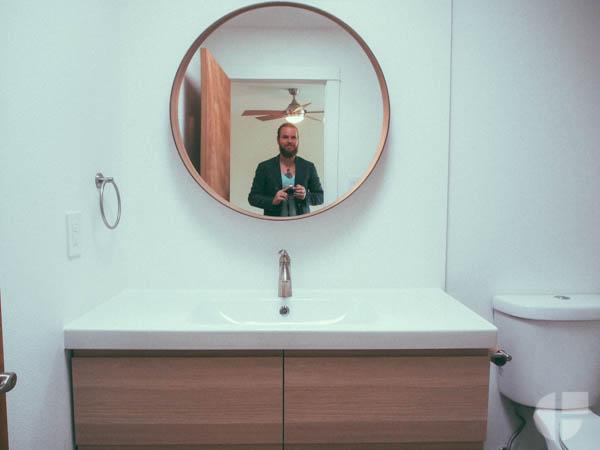 Oh hey there! En suite bathroom.