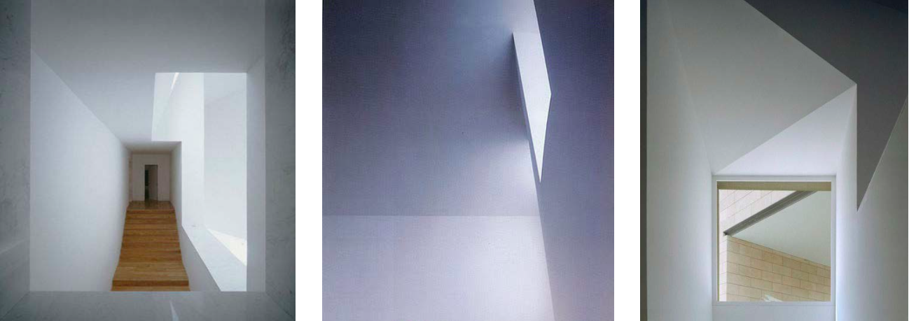Alvaro Siza is a great example of the minimalist look I love. All the focus is on light, form and volume.