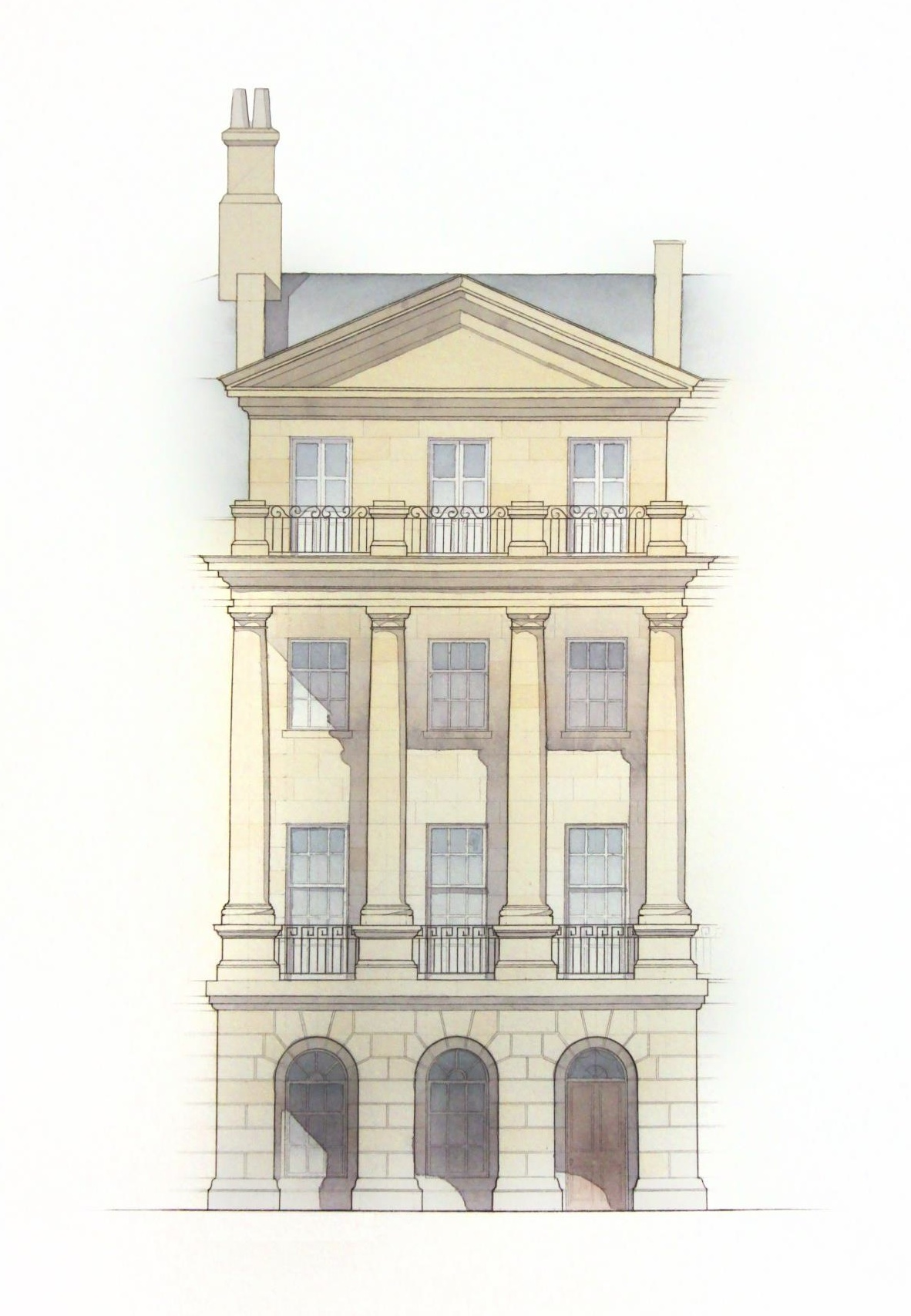 Bath, England - Proposal for Development within a World Heritage Site