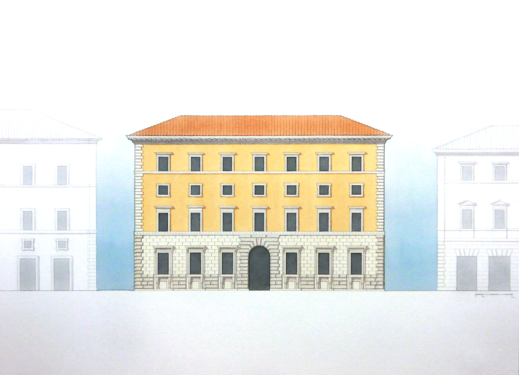 Proposed Building Museum - Rome, Italy
