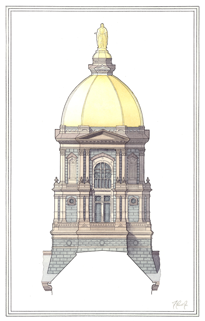 Golden Dome - Notre Dame University