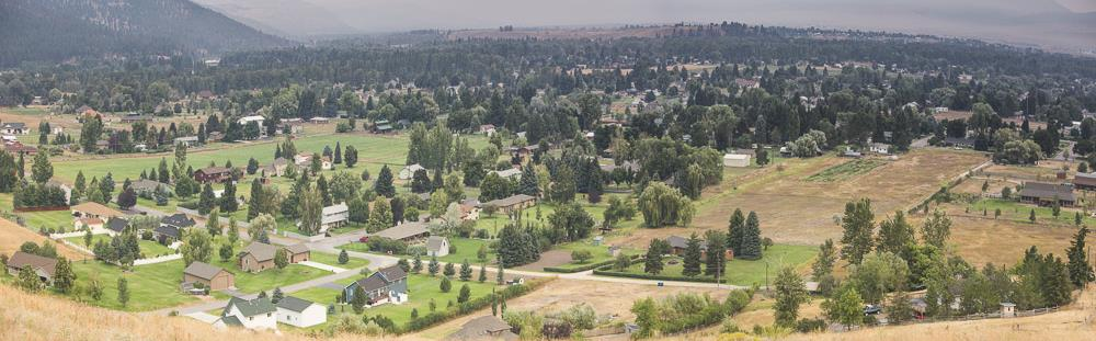 Our Target Range neighborhood, zoned as the special low density rural district, doesn't seem so rural from this aerial image.