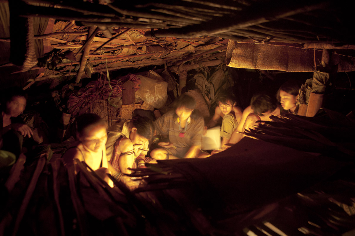 Cook Fire, Mountain Hut, Borneo. Photo by Noah.