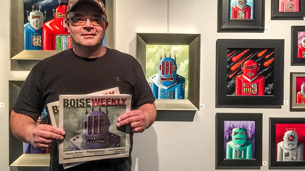 John Padlo - Evermore Prints, Boise, Idaho, January 2018