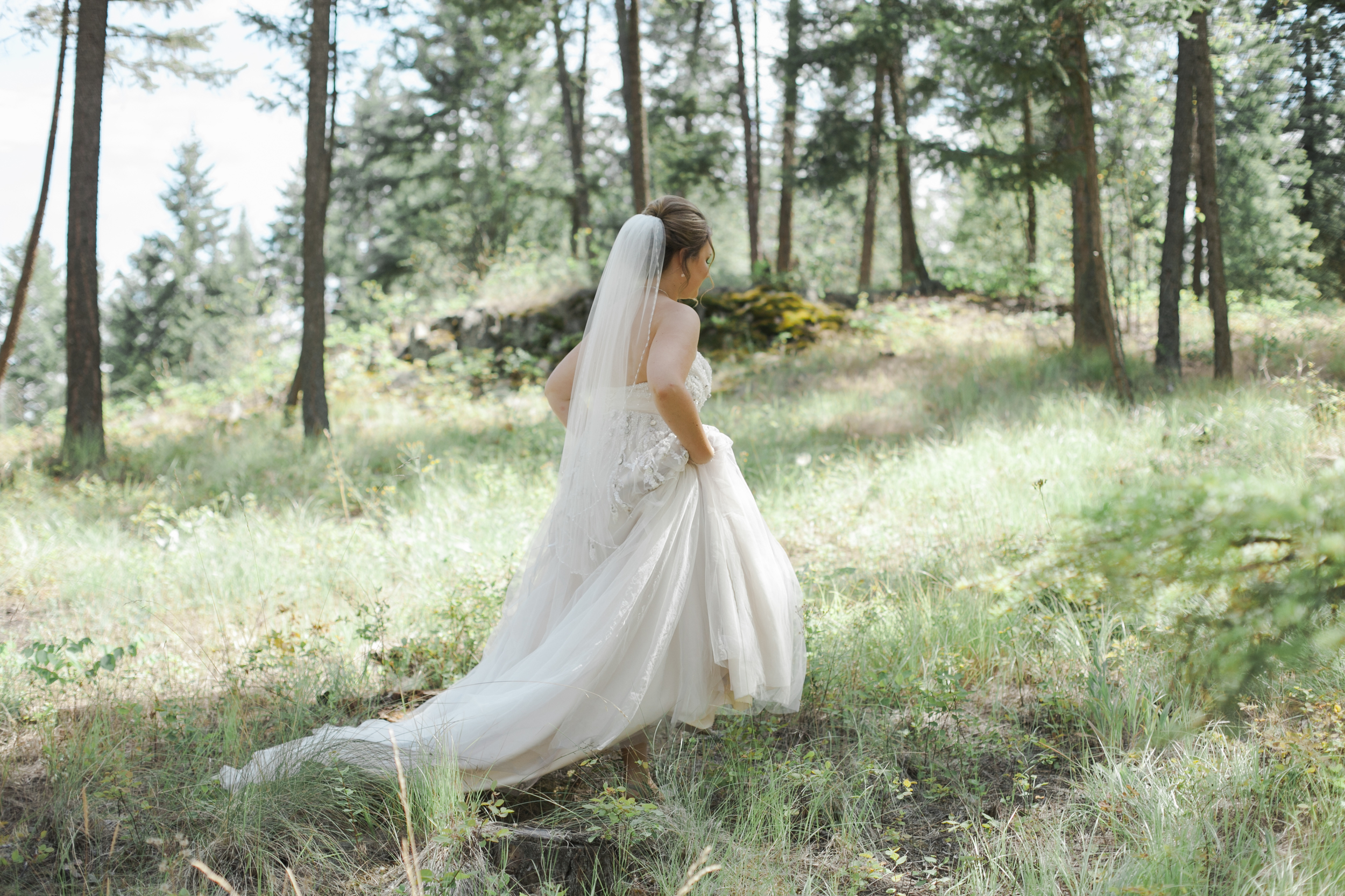 Love this one of Madeline on her way to the first look, from my second shoot Tiffany Walde.