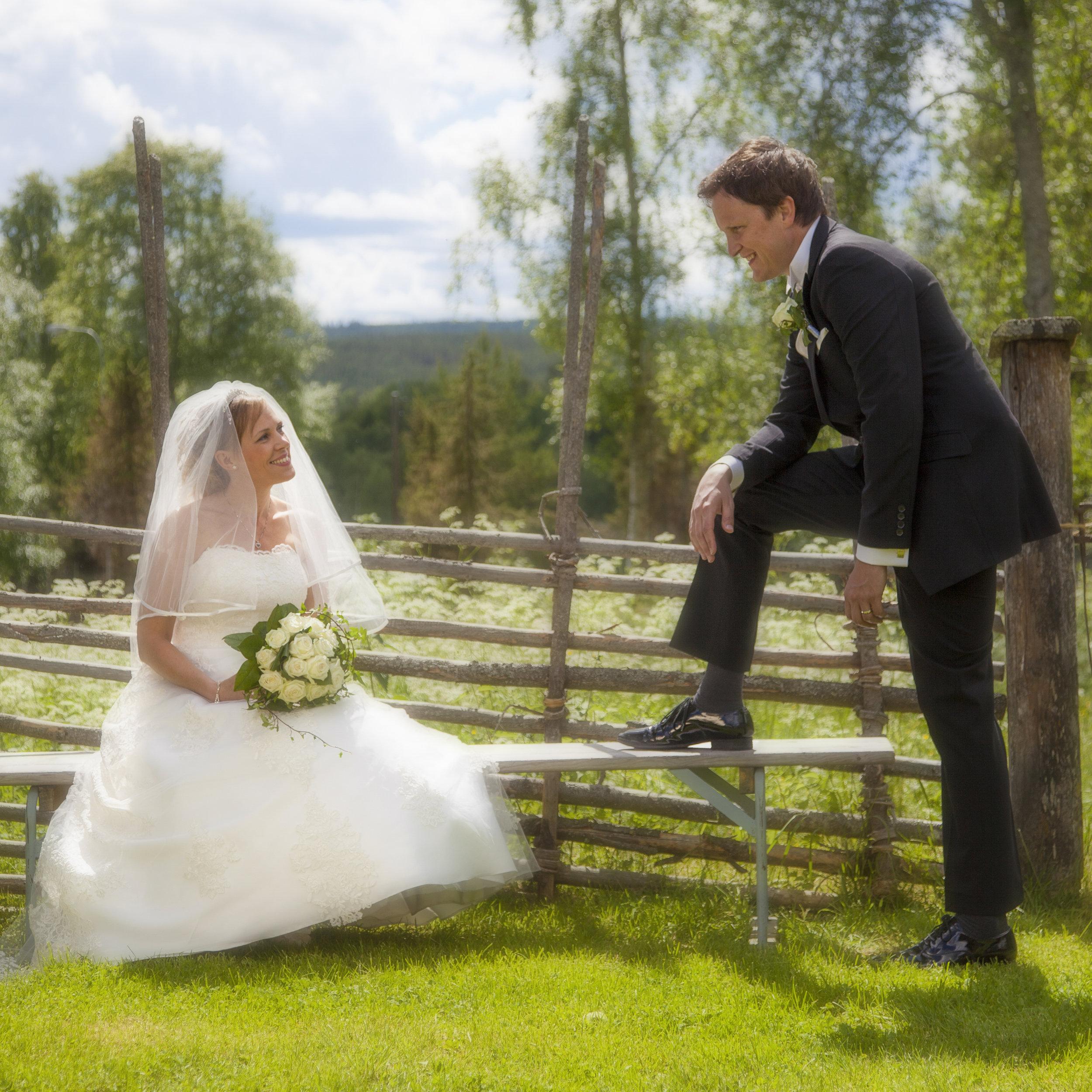 Bröllopsfotograf, 12900kr (prisexempel)    I prisetförslaget för bröllopsfotograferingen ingår en timmes brudparsfotografering samt fotografering av hela vigseln. Brudparet erhåller ca 100st digitala bilder av hög kvalité (300ppi) samt ett eget web-galleri. Innan ni väljer mig som fotograf träffas vi och går igenom vilka förväntningar ni har.