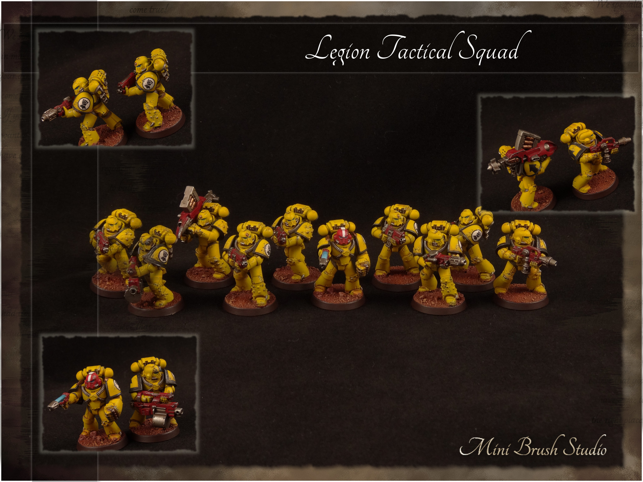 Legion MKIV Tactical Squad 9 ( Imperial Fists ).jpg