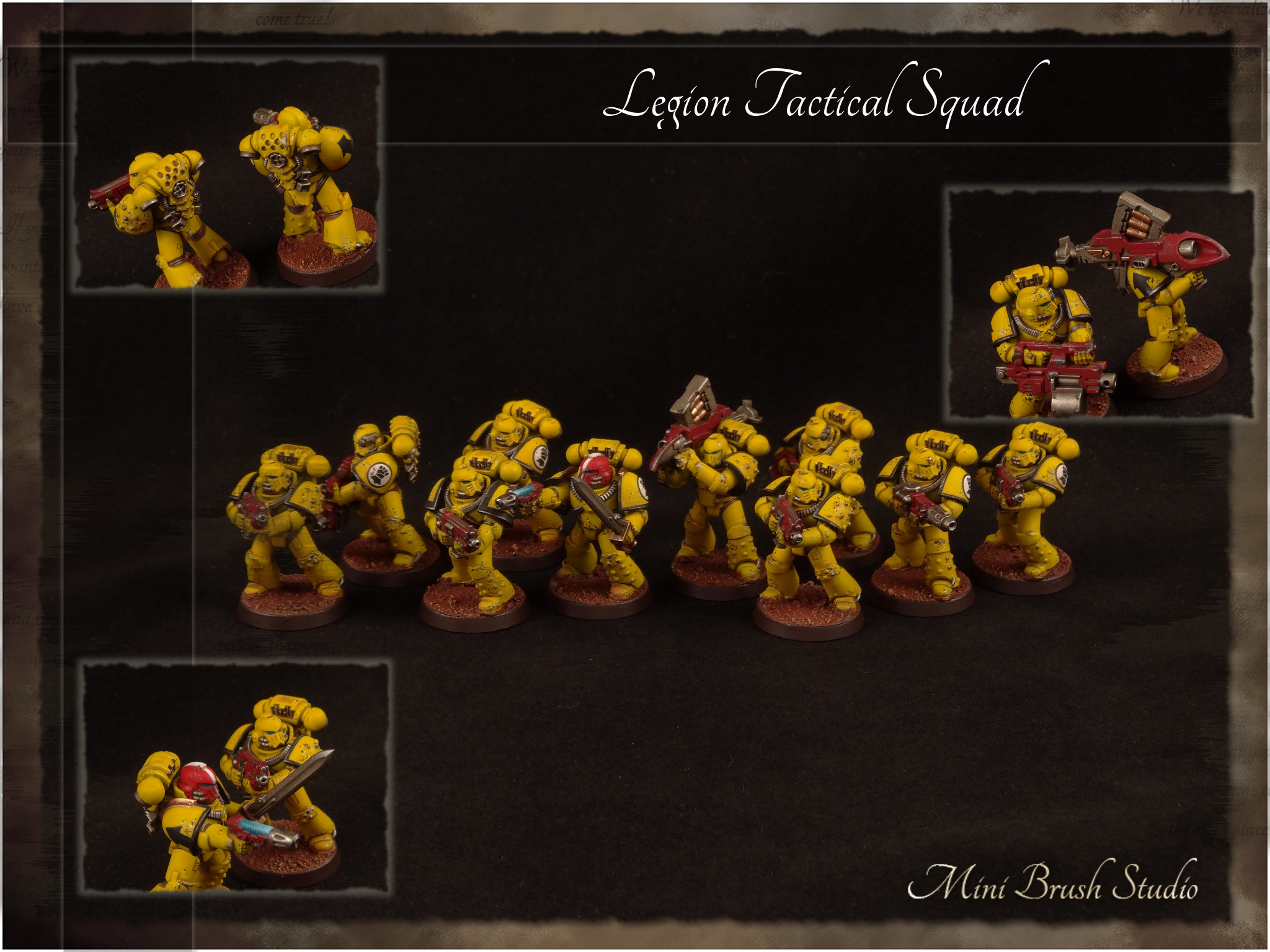 Legion MKIV Tactical Squad 7 ( Imperial Fists ).jpg