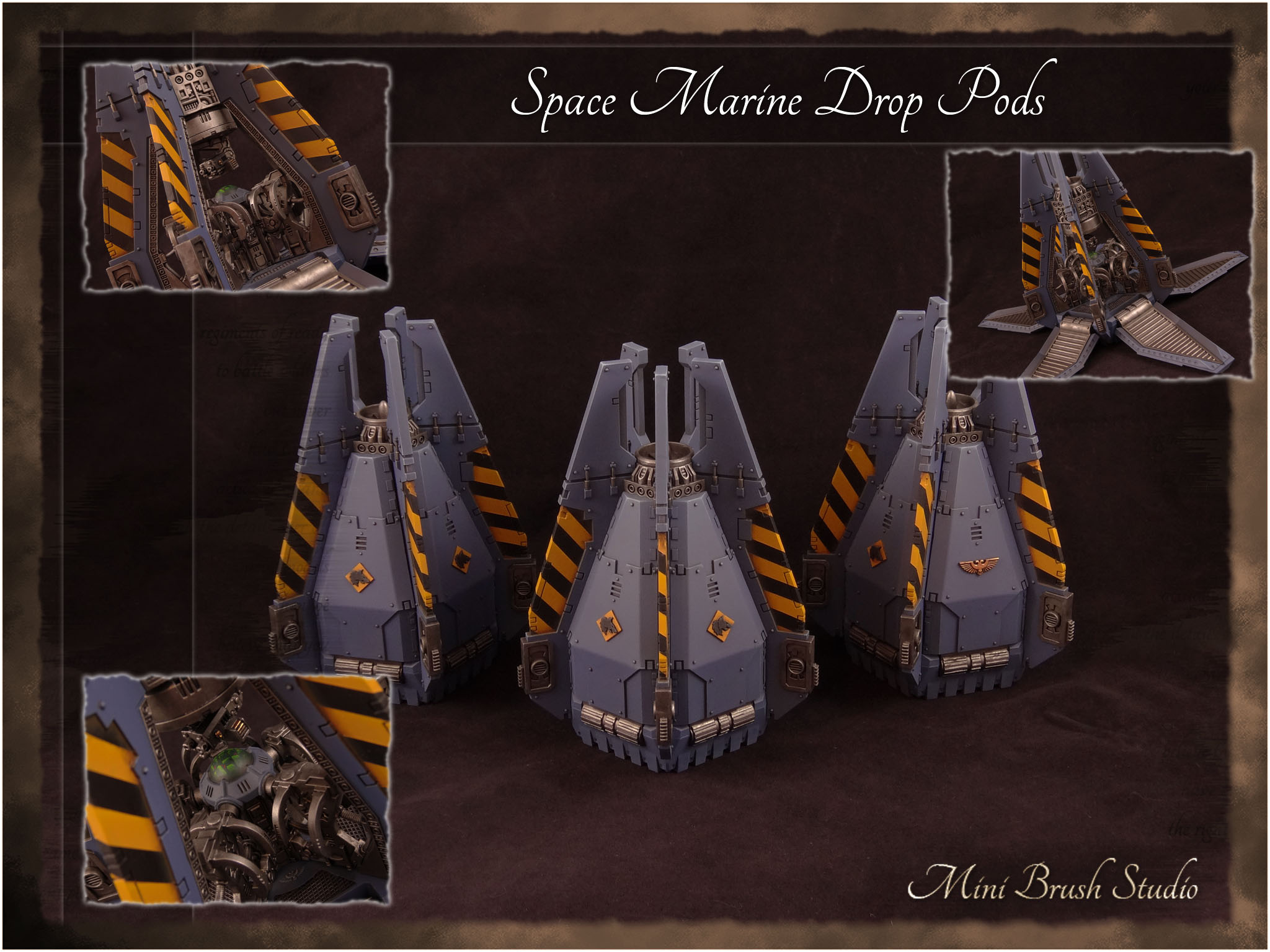 Space Marine Drop Pods 1 ( Space Wolves ) v7.jpg