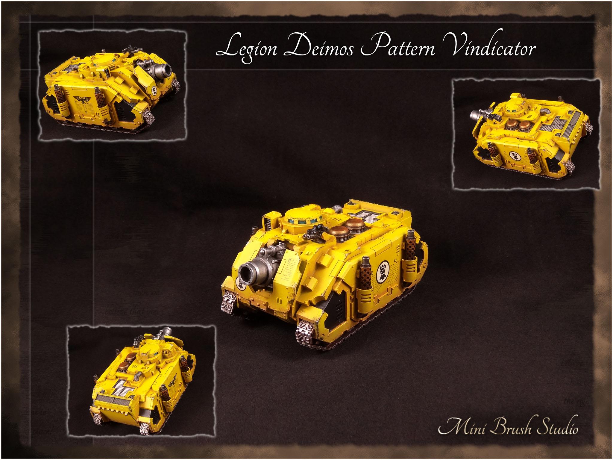 Legion Deimos Pattern Vindicator ( Imperial Fists ) 1 v7.00.jpg