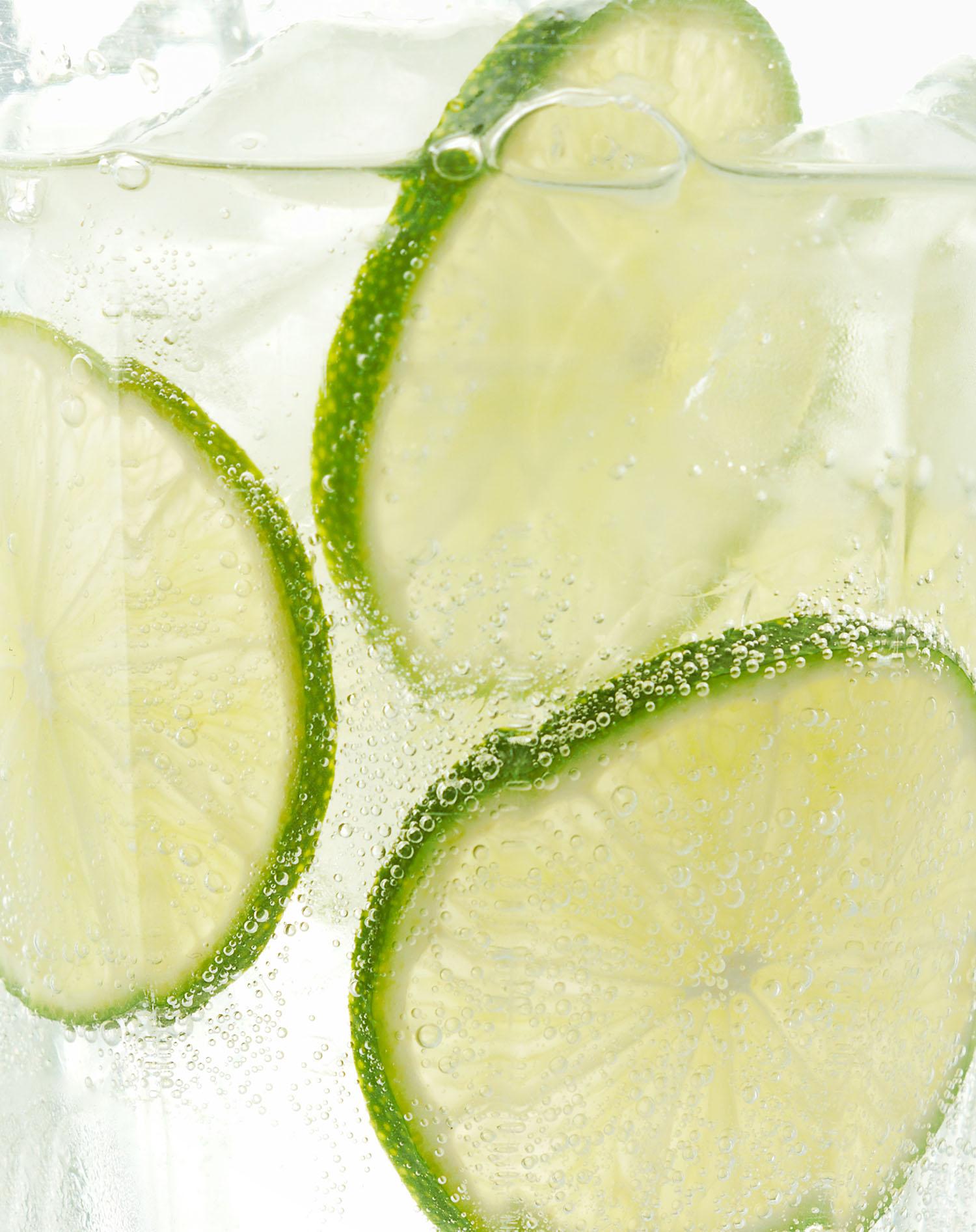 Food Photography Photographer London UK Lime Gin Tonic